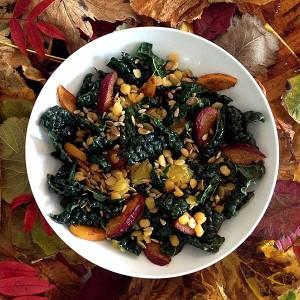 LifeAfterBread Autumn Kale Salad