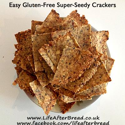 Gluten Free Seed Crackers Recipe |