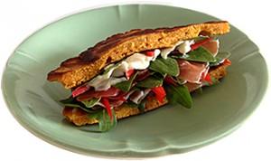 no-bread sandwich