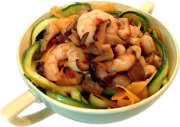 oriental prawn vegetable noodles recipe