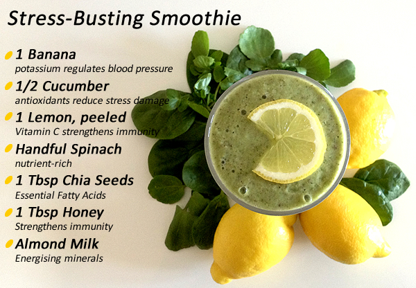 stress busting smoothie