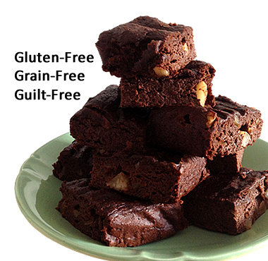 gluten free grain free chocolate brownies